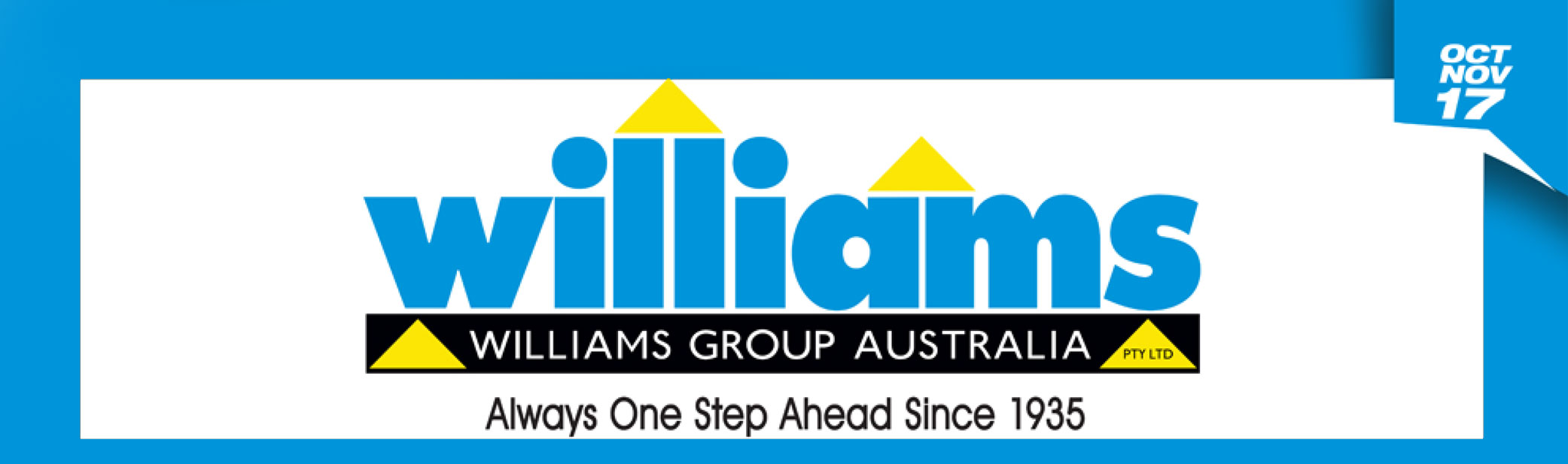 Williams logo banner