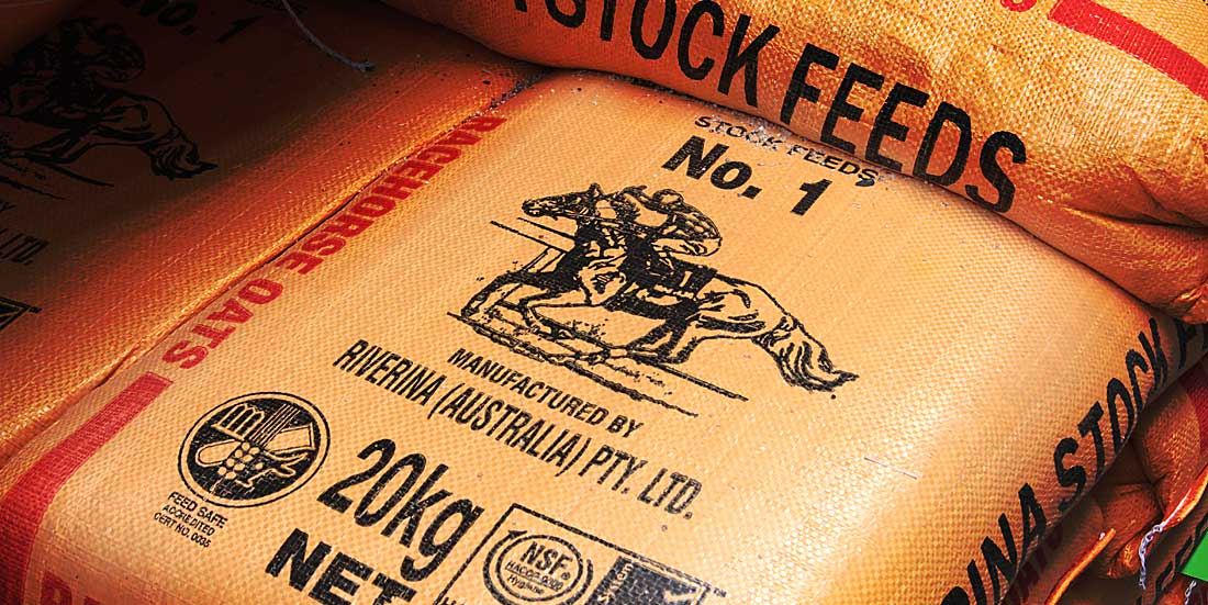 20KG bags of livestock feed